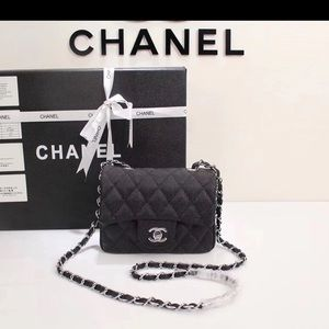 Chanel black crossbody bag
